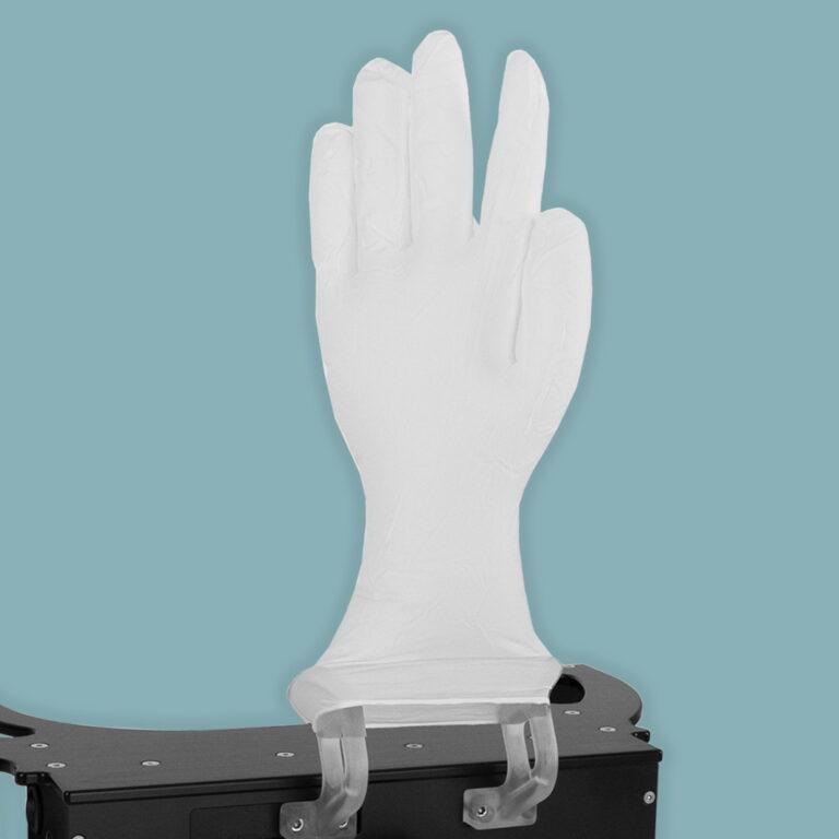 Gos Glove Onput System Gummihandschuhe aufgeblasen